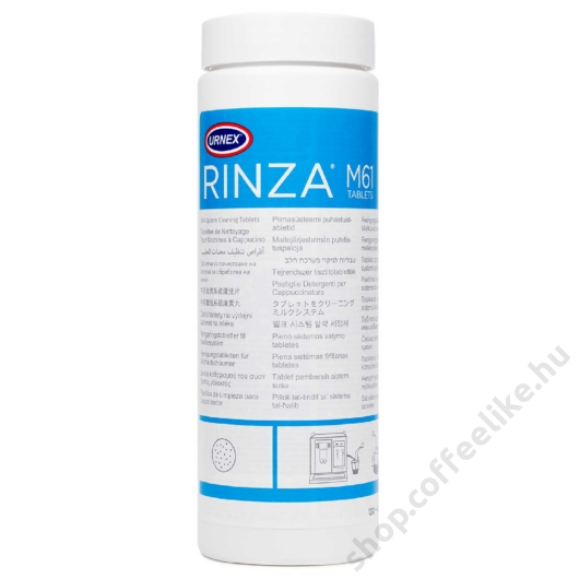 Rinza cleaning tablets 120 db